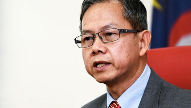 Image result for timbalan menteri kesihatan dr lee
