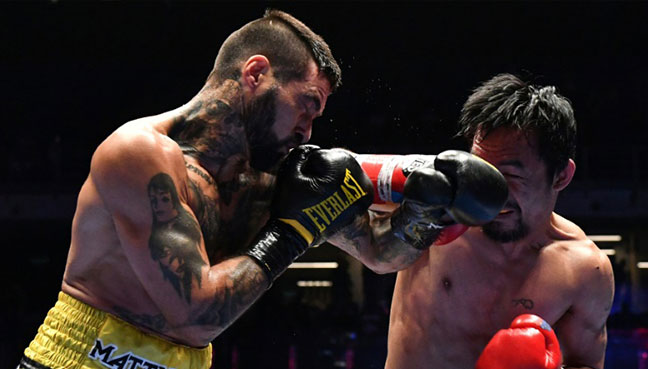 Matthysse announces retirement after knockout loss to Pacquiao