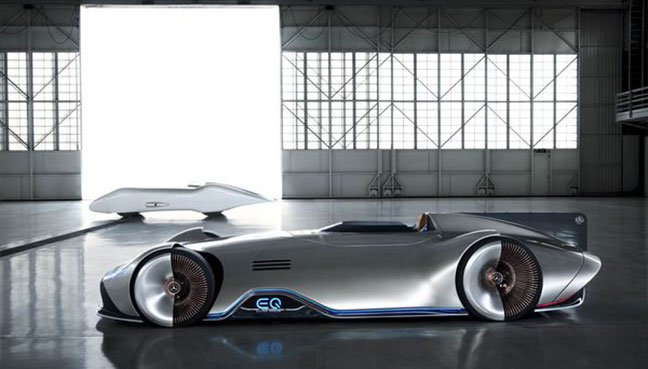 738bhp Mercedes EQ Silver Arrow electric concept revealed