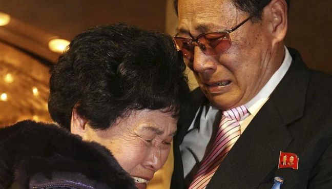 Joy, disbelief as Korean families separated by war meet after 65 years