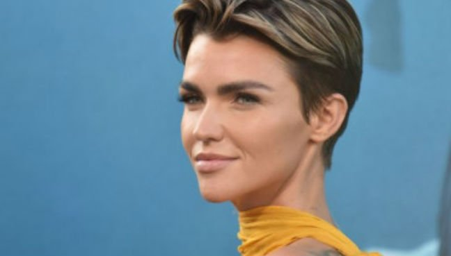 Ruby Rose also stars in 'The Meg' which is out in theaters shortly