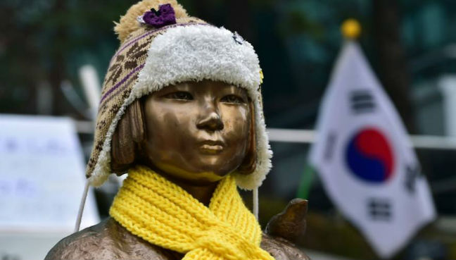 South Korea marks first 'comfort women' day, seen drawing Japan's protest