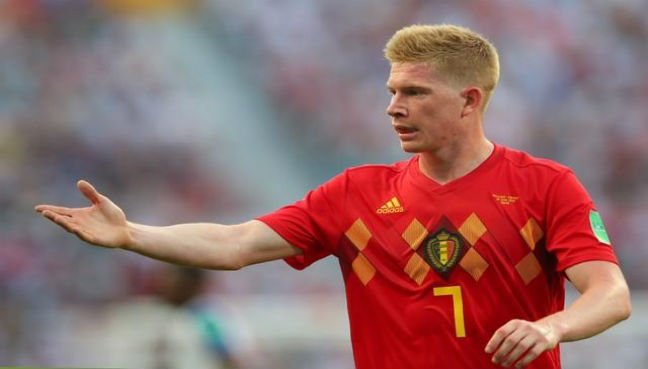 De Bruyne to miss three months for Manchester City