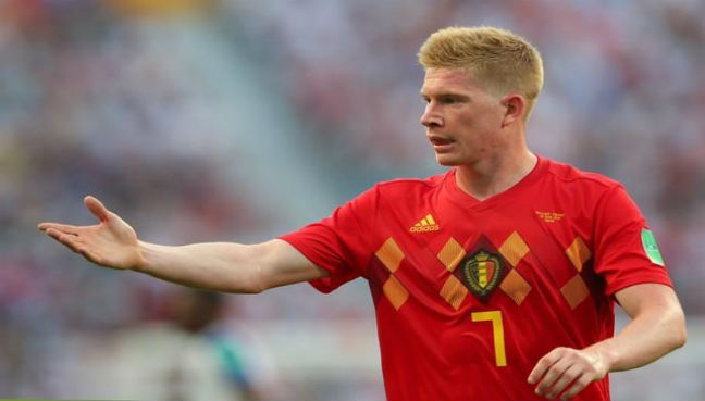 Man City midfielder De Bruyne out for 3 months with injury