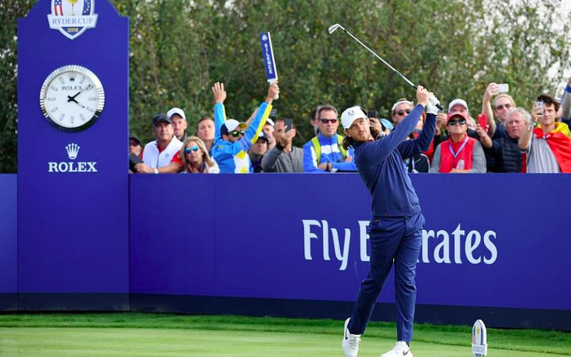 'Vamos!': Garcia firing up Europe at Ryder Cup