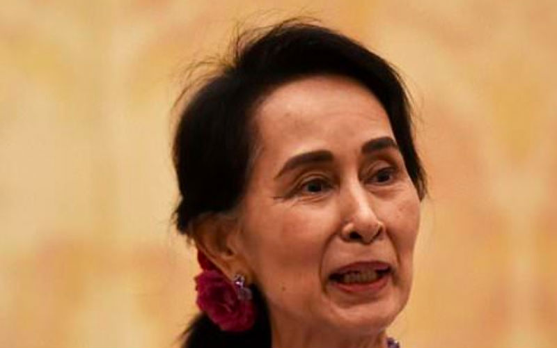 Canada MPs, in symbolic move, vote to strip Suu Kyi of citizenship