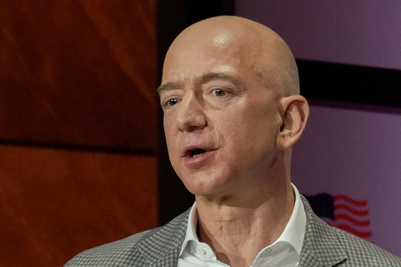 Bezos is dangerously close to losing title of 'world's richest person'