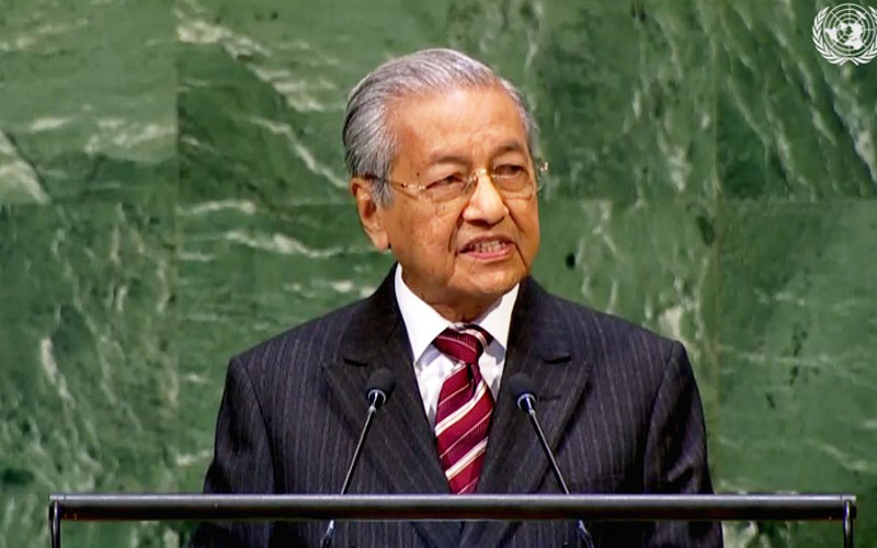 Image result for mahathir un