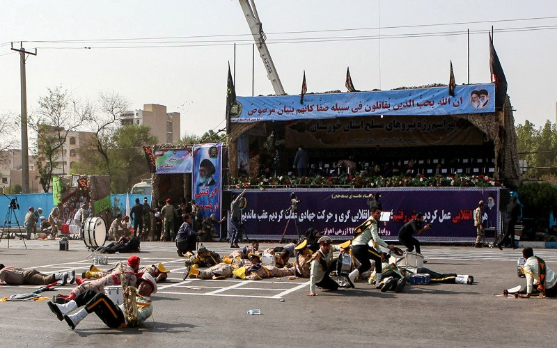 24 killed, dozens wounded in 'terrorist' attack in Iran