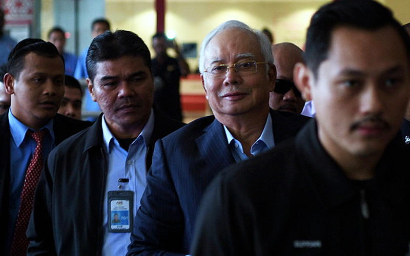 Najib faces multiple charges