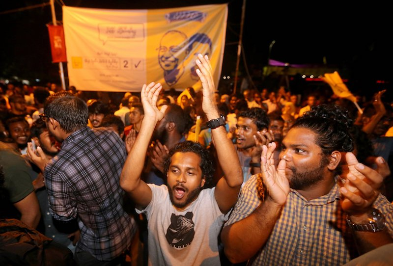 Maldives opposition leader Ibrahim Mohamed Solih wins presidency with 58.3%