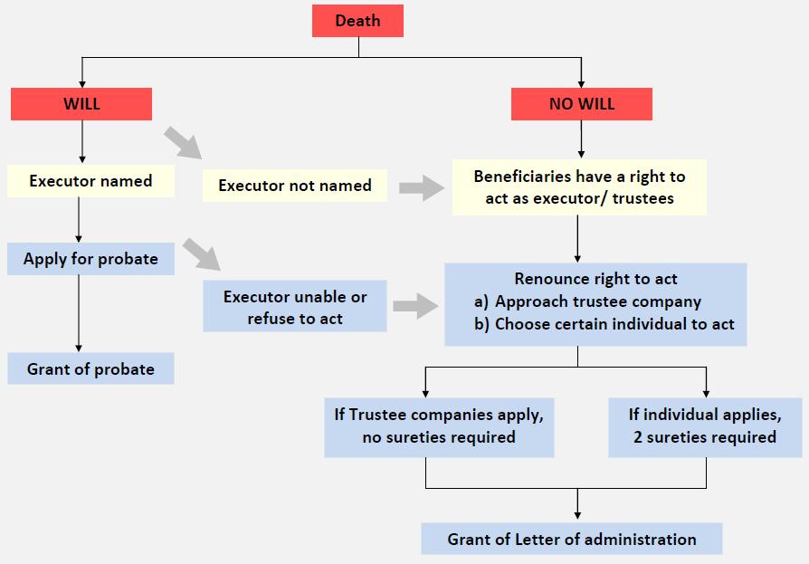 executor vs trustee vs administrator