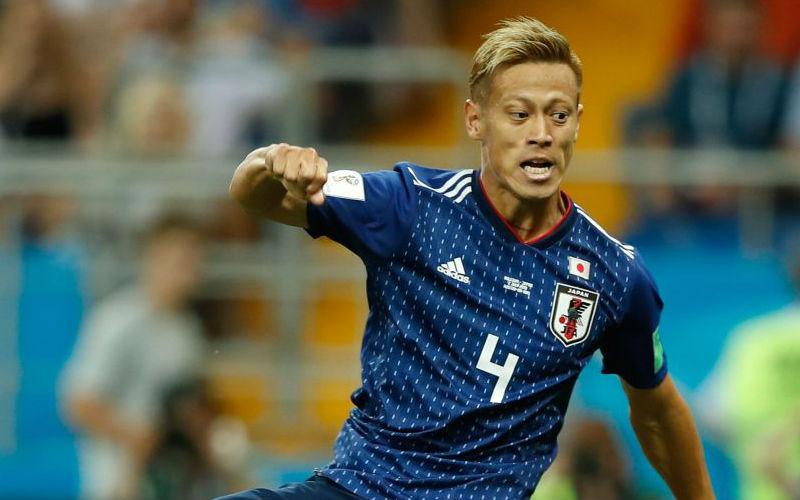 Japan's Honda urges Man Utd to sign him in Twitter plea