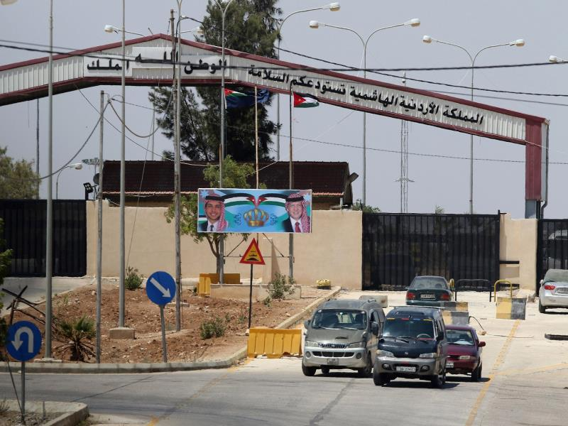 Jordan and Syria say border to reopen on Monday