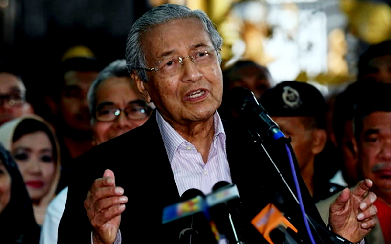Legal procedure against Rosmah according to law, says Mahathir