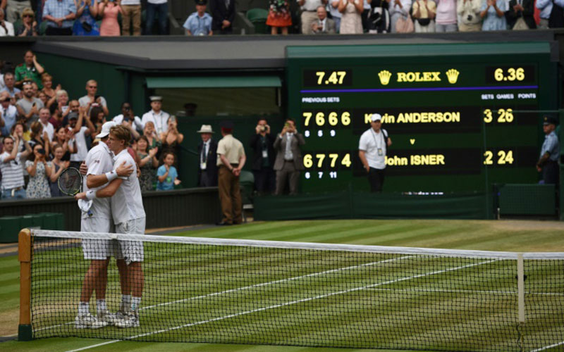 Wimbledon to introduce final-set tiebreakers starting in 2019