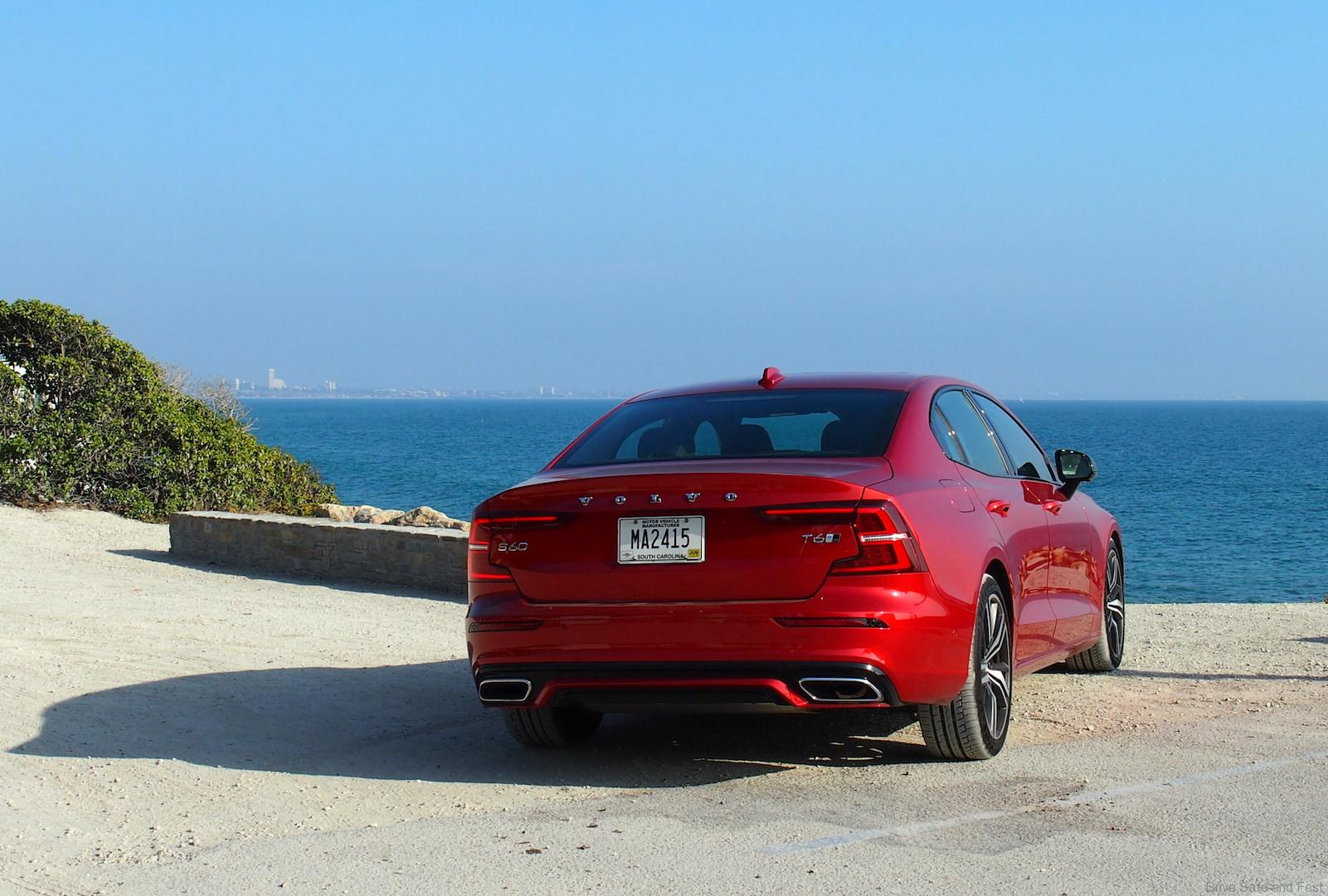Test drive of the Volvo S60 T6 2019 in Santa Monica | Free