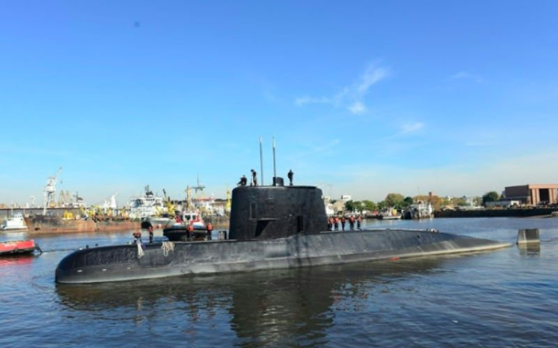 Sunken Argentine submarine 'IMPLODED' in Atlantic with 44 crew - SHOCK pictures