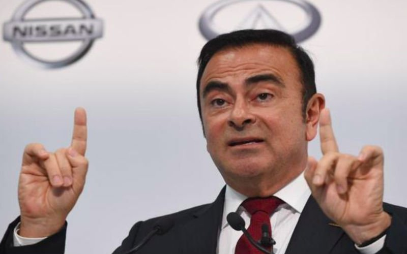 Nissan chairman Carlos Ghosn 'arrested', to be dismissed for financial misconduct
