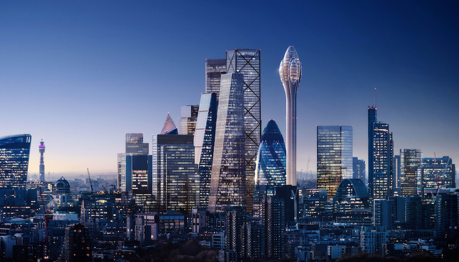 'Tulip' tower planned for London's skyline