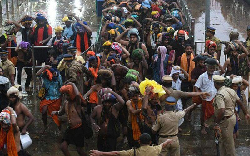 Sabarimala pilgrims not extremists, Kannanthanam flays Kerala cops