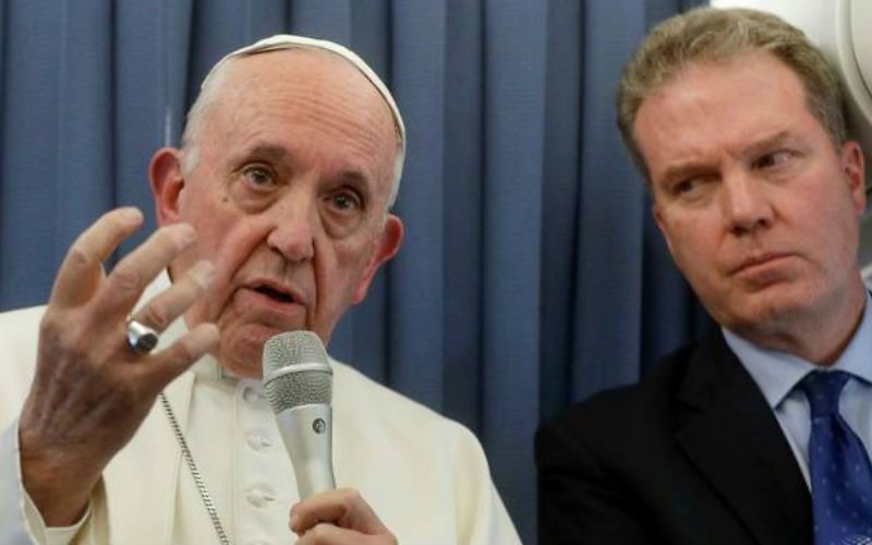 Vatican Spokesman, His Deputy Quit Without Giving Any Explanation
