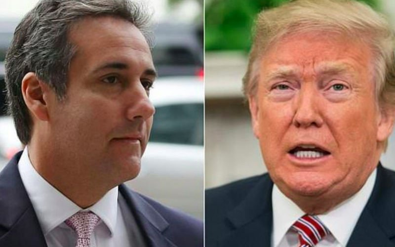 Trump denies ties to ex-lawyer Cohen's crimes