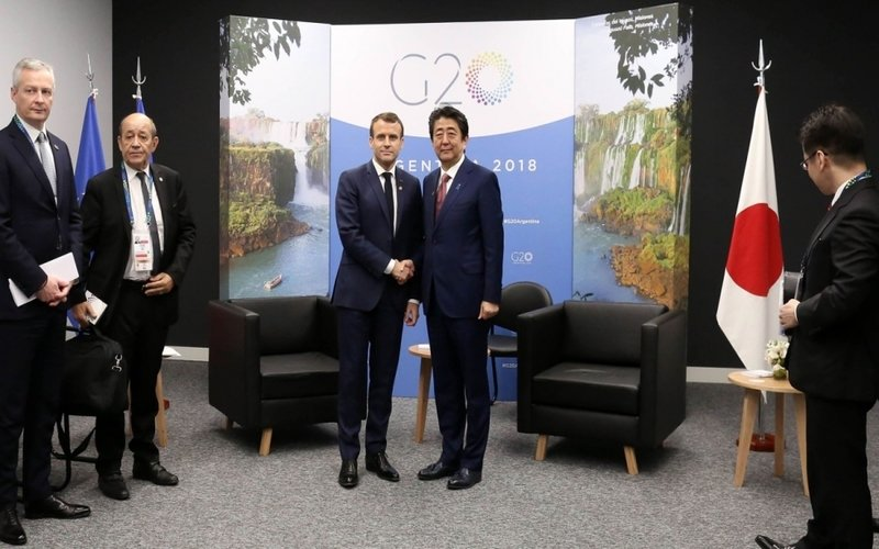 Prime Motor Group >> Macron tells Abe he wants to keep Renault-Nissan alliance | Free Malaysia Today