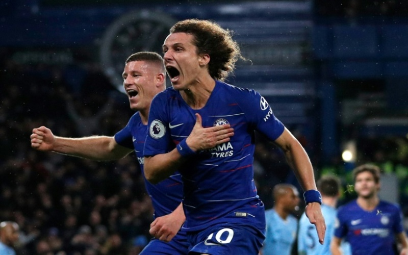 Chelsea end Man City's unbeaten run with 2-0 win