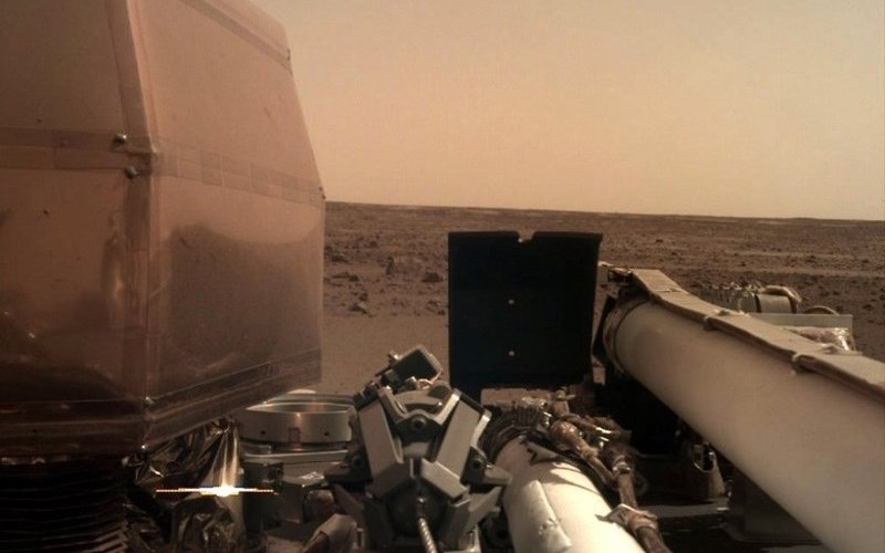 What Wind Sounds Like On Mars