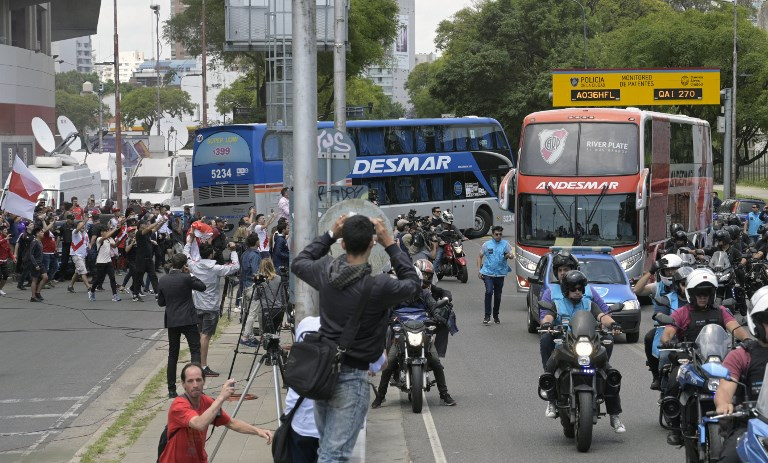 Massive Sendoff For Boca Juniors Ahead Of Copa Libertadores Final In Madrid