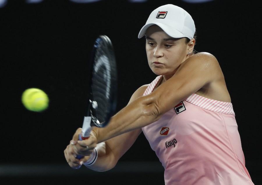 Barty Eases Into 4th Round With Win Over Sakkari Free