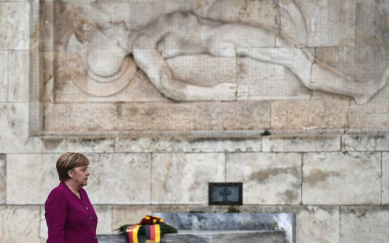 Merkel: Germany recognises 'historical responsibility' for Nazi crimes in Greece