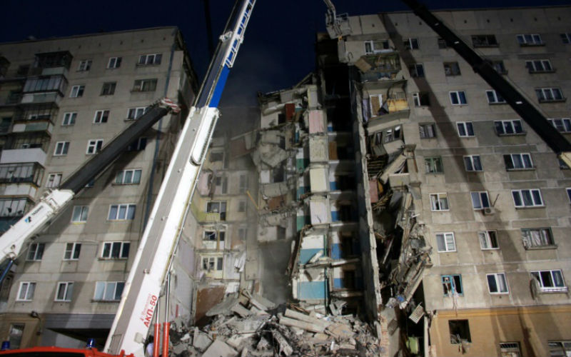 At least 2 dead in Russia's high rise apartment collapse