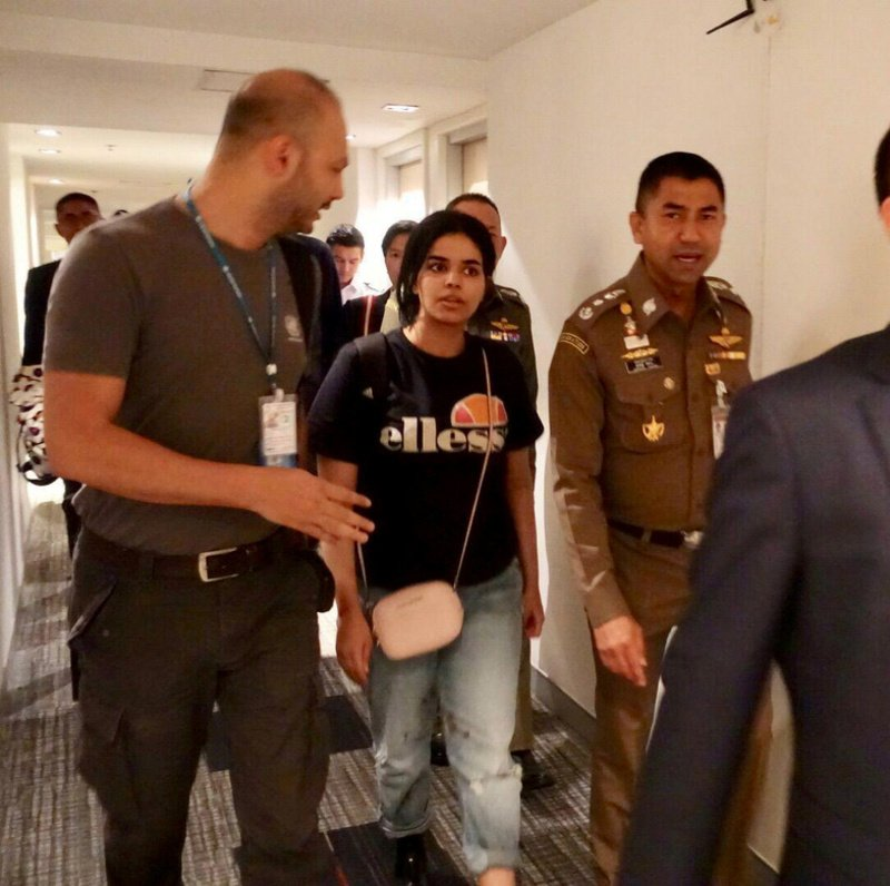 Malaysia Today: UNHCR Examining Saudi Woman's Asylum Bid As Family Due In