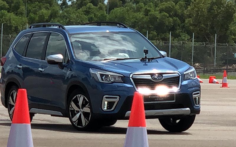 Subaru Forester E Boxer Makes Big Impression In Singapore Free
