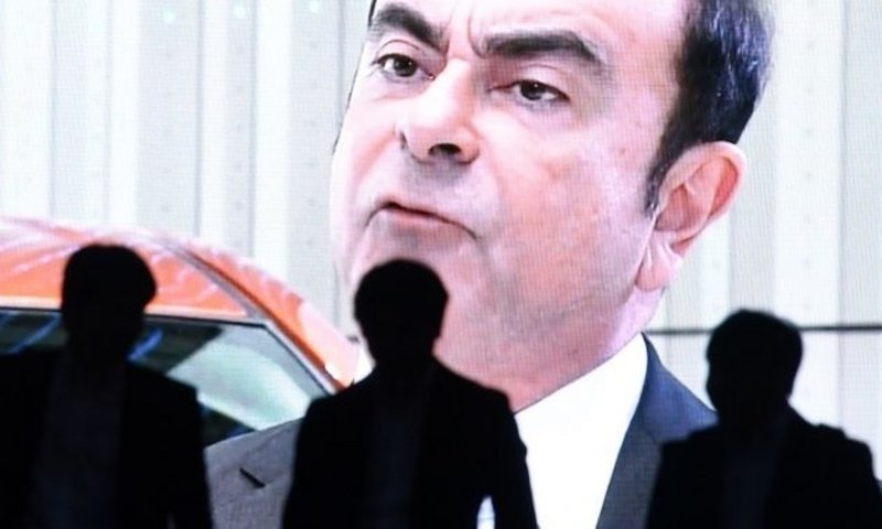 Carlos Ghosn suffers 'harsh' jail treatment, wife tells Human Rights Watch