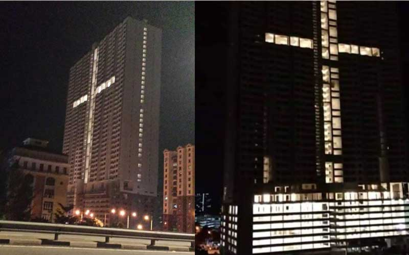 D Exhibition Penang : Lighting in form of cross: penang govt awaits explanation from