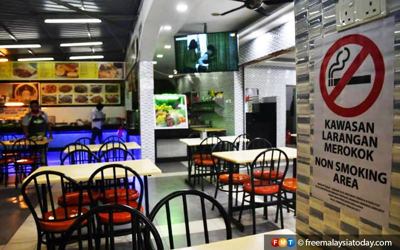 Our customers fading away after smoking ban, restaurant