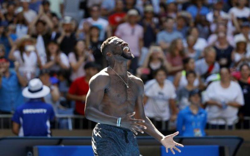 Tiafoe downs Dimitrov for first Grand Slam quarter-final