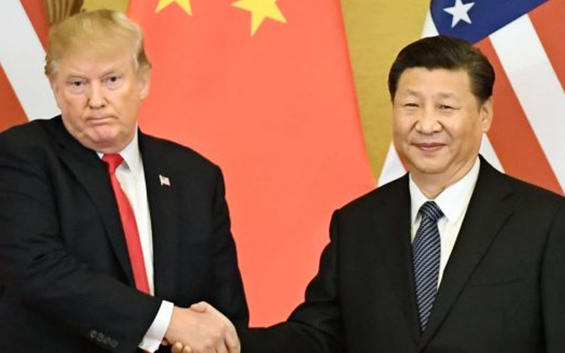 US President Donald Trump says could extend China trade talks deadline