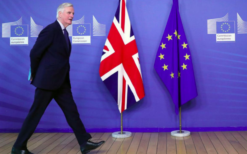 EU's Barnier says trade talks with Britain 'disappointing'