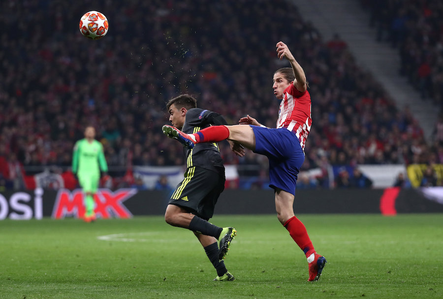 0e2a257d25 ... in action with Juventus  Paulo Dybala. (Reuters pic). MADRID  Atletico  Madrid took a huge advantage in their heavyweight Champions League last-16  tie ...