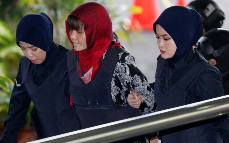 Doan Thi Huong broke down in court after she lost a bid to be released from a charge of murdering Kim Jong Nam in 2017