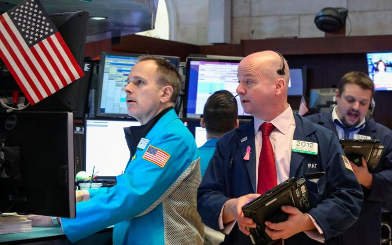 Traders work on the floor of the New York Stock Exchange in New York US Mar 8 2019