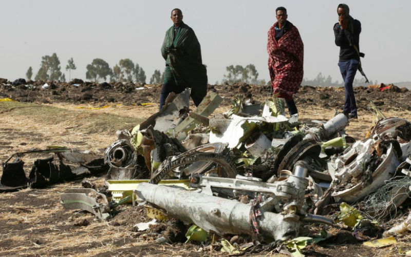 Two men narrate how they 'luckily' missed Ethiopian airline that crashed