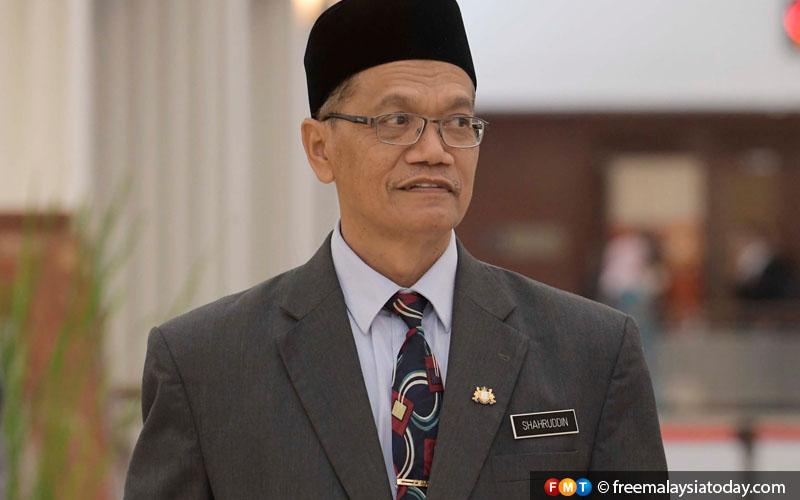 Shahruddin Letak Jawatan Timbalan Menteri Kerja Raya Mahu Perbetul Kesilapan Free Malaysia Today