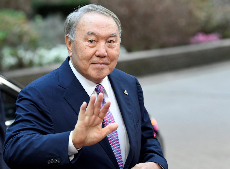 Kazakh president says resigning after 3 decades in office