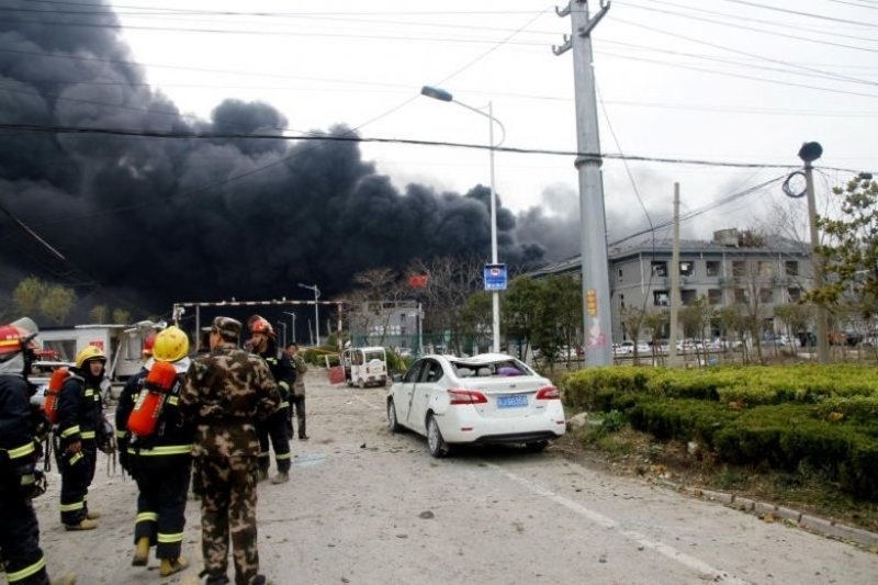 China chemical blast death toll rises to 44