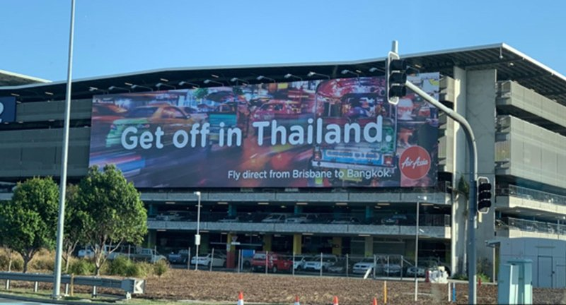 Budget carrier AirAsia pulls 'Get off in Thailand' ads in Australia